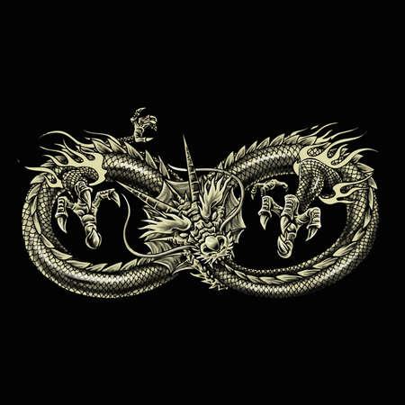 Ouroboros The Dragon Bites it's Own Tail with Sacred Geometry