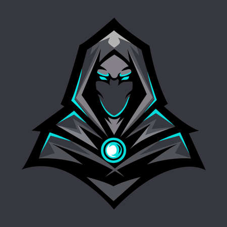 Dark Wizard Design Vector Character