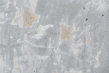 Gray textured background of old flaky plaster Imagens - 125423269