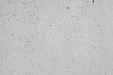 Gray textured background of old flaky plaster Imagens - 125423333
