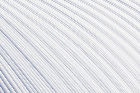 Bent stack of white paper sheets. Conceptual background of folded office forms.