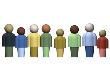 diversidad cultural: La diversidad cultural  Foto de archivo