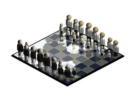 People World Chess Set