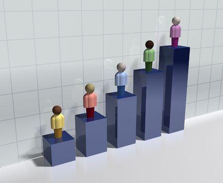 demographic: Indicatori demografici Archivio Fotografico