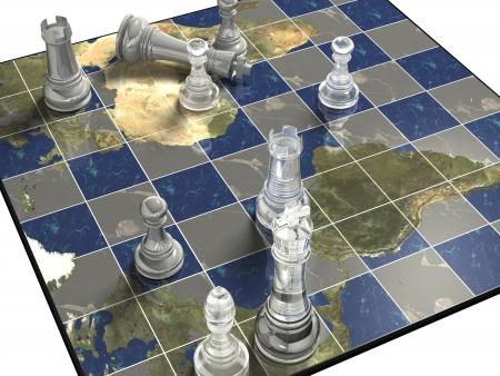 ajedrez: Pol�ticos juego de ajedrez