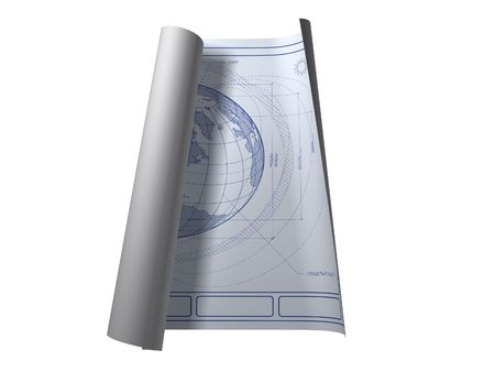 Architectural plans of Earth