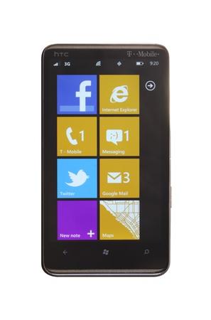 htc: HTC HD7 running Windows Phone 7.5 Mango update Editorial