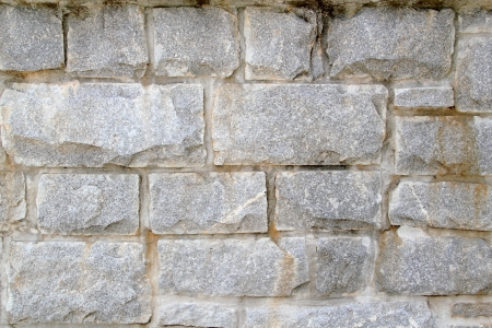 Large stacked stone wall background