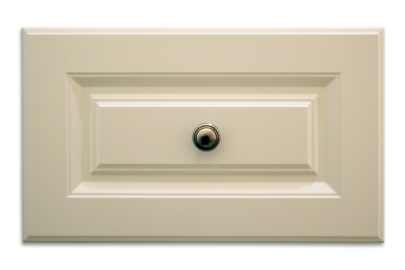 Isolated cabinet drawer with drop shadow
