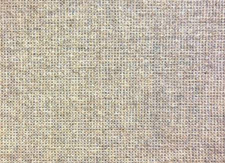 Brown fabric texture close up.