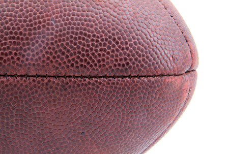Closeup of the texture on a football. 写真素材