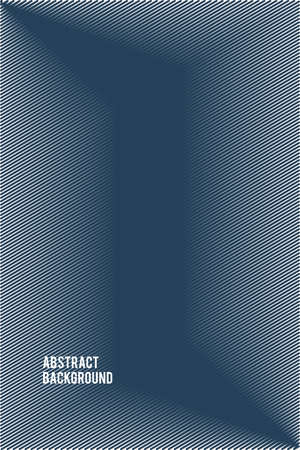 Abstract blue vector background with stripes in minimalism style
