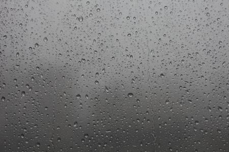 Die Trommeln von Regen auf dem Glas Lizenzfreie Bilder