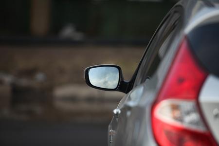 Auto Rückspiegel Lizenzfreie Bilder