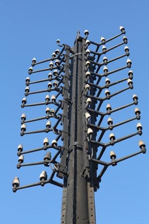 telegraaf: oudste telegraafpaal