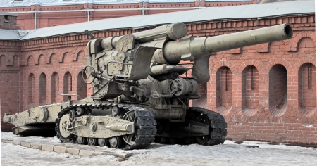 artillery shell: Remolcado 203-mm ob�s B-4 arr 1931 Editorial