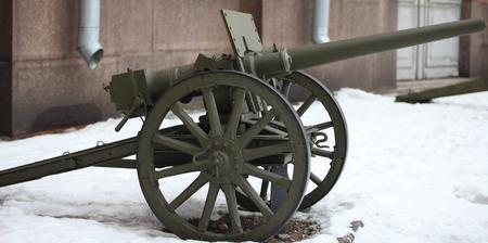 lightweight field cannon Stock Photo - 12857118