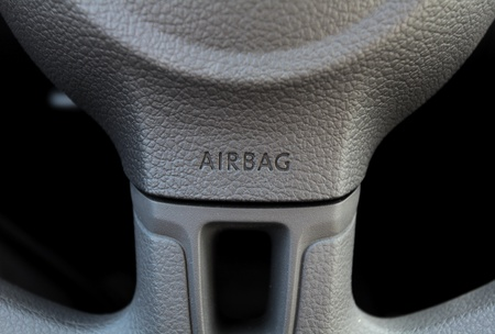 steering wheel with a integrated airbag photo