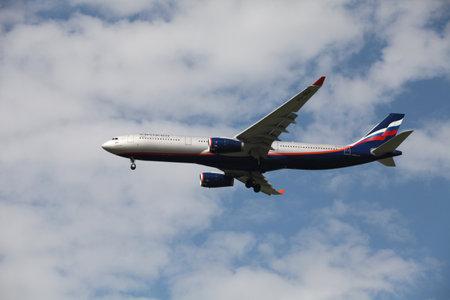 Airbus passenger aircraft in the air company Aeroflot Stock Photo - 14148818