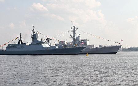 corvette: Russian Navy Corvette  Editorial