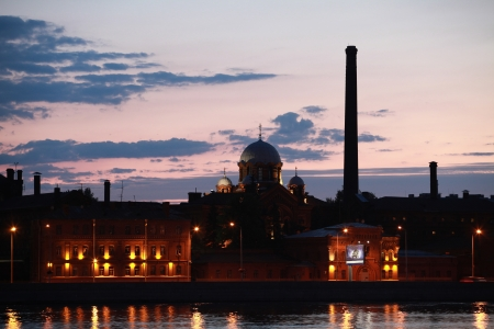 Saint Petersburg views the prison  Stock Photo - 17377696
