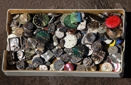 unstoppable: pile of old clockwork in the Box