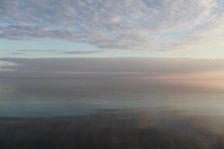 water s edge: Paesaggio marino Archivio Fotografico