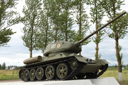 Soviet tank of the Second World War Tank T34