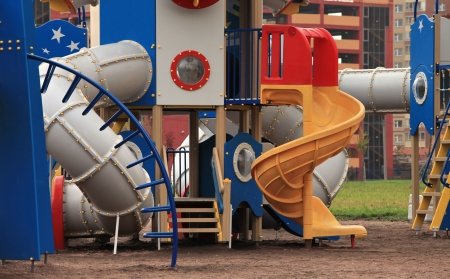 spaceport: The gaming  spaceport   in the playground