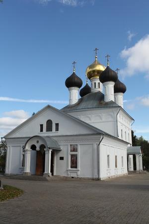 17th century: Church in the village Zavidovo 17th century Russia