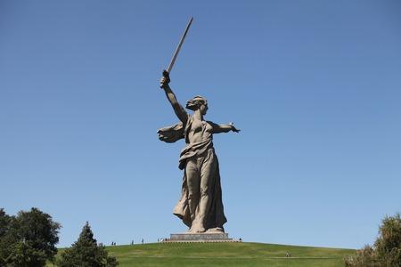 volgograd: Monument Motherland mother in Volgograd Russia