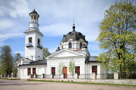 alexander nevsky: Church of the Holy Blessed Great Prince Alexander Nevsky in Ust-Izhora