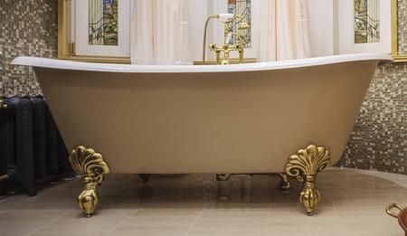 Badezimmer Interieur im klassischen Stil