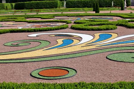 regular: Royal Garden regolare Oranienbaum Russia Archivio Fotografico