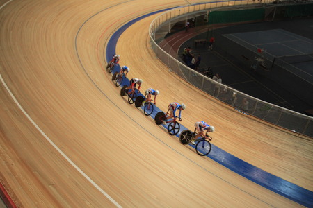 Pursuit Cycling Indoor track