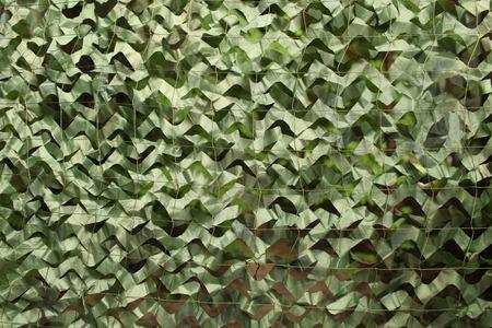 military camouflage net background Standard-Bild