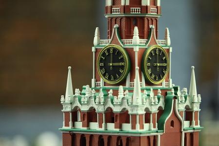 chiming: chiming clock of the Spasskaya tower of the Kremlin