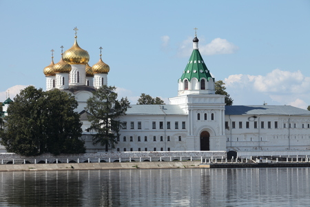 kostroma: Kostroma Russia,7 August 2014 view of the Ipatiev Monastery in summer