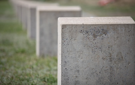 empty tomb: empty gravestone monument to the unknown soldier Stock Photo
