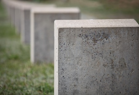 empty gravestone monument to the unknown soldier Stock Photo