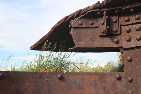 embrasure fort Totleben in the Baltic Sea Stock Photo