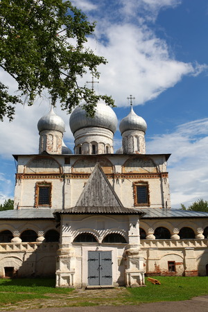 church of our lady: Russian church Our lady in Veliky Novgorod 16th century