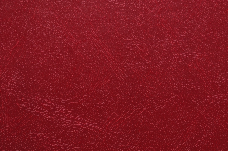 High resolution photo of red artificial leather
