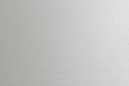 anodized: Primer plano de la hoja de aluminio satinado anodizado Foto de archivo