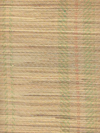 straw mat: High resolution close-up of a straw beach mat