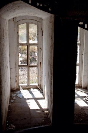 Dilapidated window Reklamní fotografie