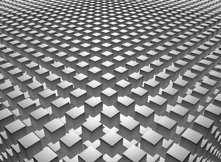 Abstract background with gray cubes Фото со стока