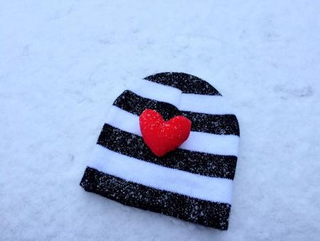 beanie: Beanie in the winter   Stock Photo