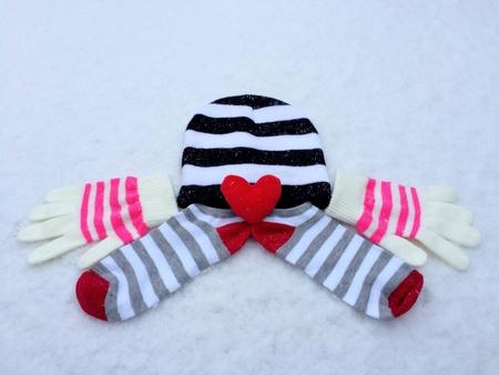 clothing: Winter wear Stock Photo