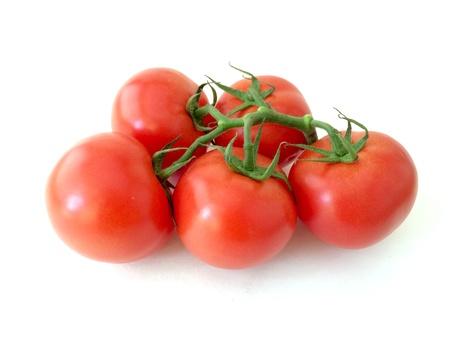 sur fond blanc: Tomates sur fond blanc